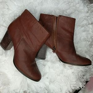 Cole Haan Nike Air Brown Cassidy Booties Size 8B